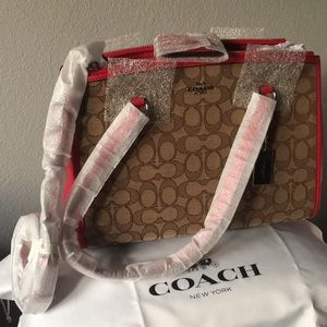 Coach Signature Stanton 29 Carryall